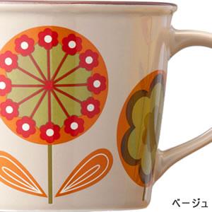 adorno(アドルノ)ホーロー風マグカップ クーカ(KUUCA)ベージュ【キッチン雑貨/食器】の詳細画像