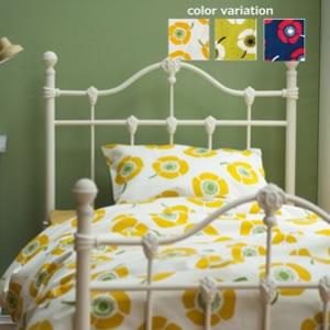 布団カバー バオッコー(VUOKKO)【おしゃれ/寝具】イエローの使用画像
