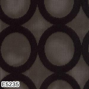 ミラーレースカーテン アイオン 1枚入【北欧インテリア】E5235の詳細画像