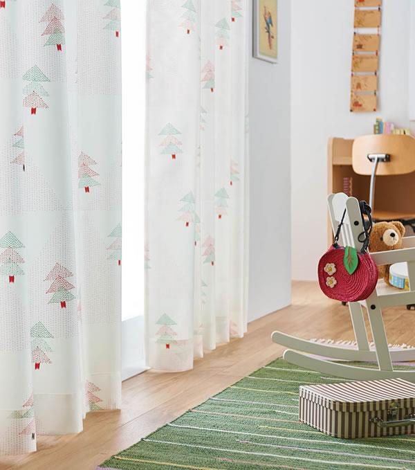 アスワンの既製カーテン BA6058 1枚入【おしゃれ/インテリア】11の展示画像