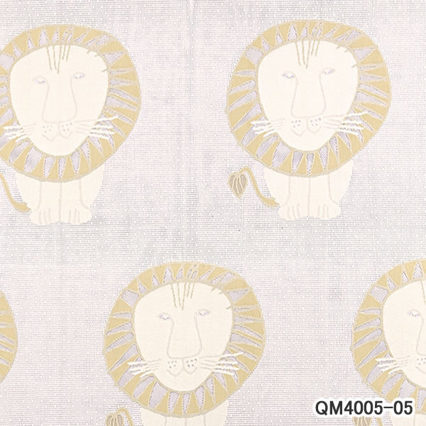 リサ・ラーソン(Lisa Larson)レースカーテン ライオン 1枚入【北欧インテリア】05の詳細画像