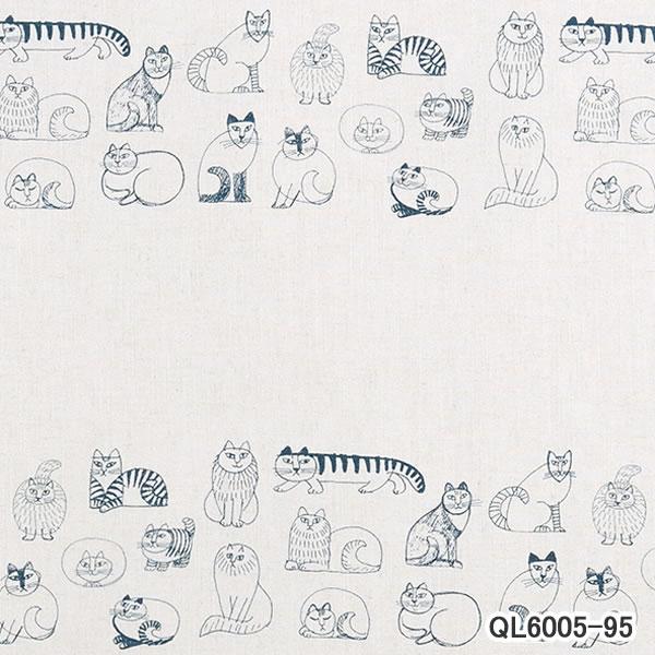 リサ・ラーソン(Lisa Larson)既製カーテン スケッチ 1枚入【北欧インテリア】95の詳細画像