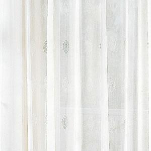 アスワンの北欧風 ミラーレースカーテン タイムの使用画像2