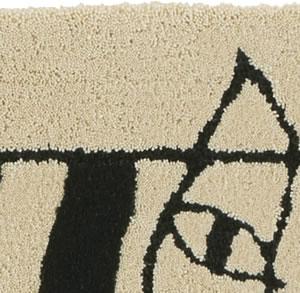 リサ・ラーソン(Lisa Larson)玄関マット クラシックマイキー【おしゃれ/北欧/洗える】の詳細画像