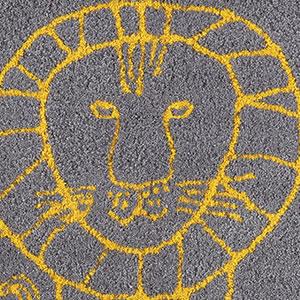リサ・ラーソン(Lisa Larson)玄関マット ライオン【おしゃれ/北欧インテリア】95の詳細画像