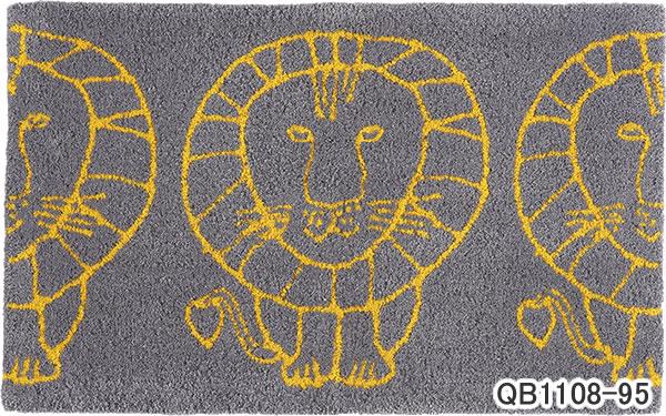 リサ・ラーソン(Lisa Larson)玄関マット ライオン【おしゃれ/北欧インテリア】95の全体画像