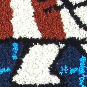 リサ・ラーソン(Lisa Larson)玄関マット マイキー 楕円形【おしゃれ/北欧インテリア】ブルー47の詳細画像