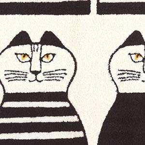 リサ・ラーソン(Lisa Larson)ラグマット ミンミ【おしゃれ/北欧インテリア】05の詳細画像