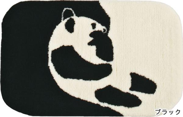フィンレイソン ラグマット AJATUS(アヤトス)【洗える/北欧インテリア】ブラックの全体画像