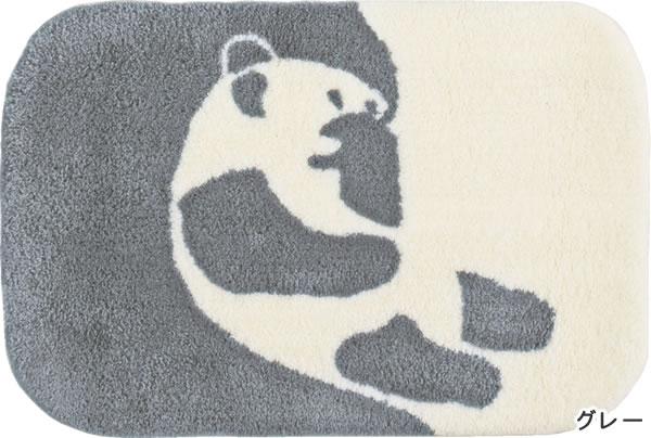 フィンレイソン ラグマット AJATUS(アヤトス)【洗える/北欧インテリア】グレーの全体画像