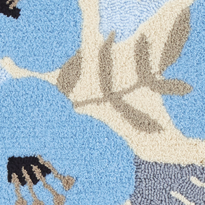 フィンレイソン 玄関マット アンニ【洗える/北欧インテリア】45の詳細画像