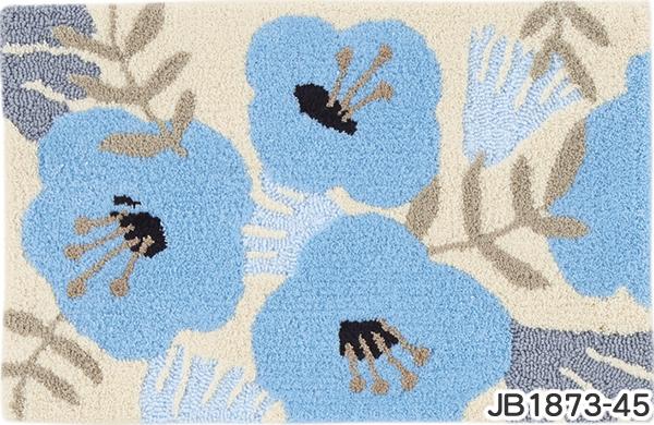 フィンレイソン 玄関マット アンニ【洗える/北欧インテリア】45の全体画像