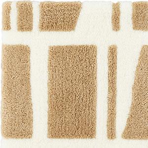 フィンレイソン 玄関マット CORONNA(コロナ)45×70cm【洗える/北欧インテリア】ベージュの詳細画像