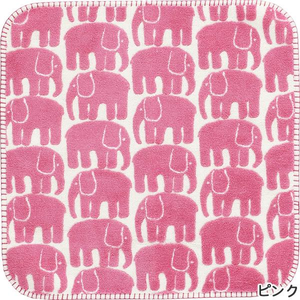 フィンレイソン ルームマット エレファンティ(ELEFANTTI)【洗える/北欧インテリア】ピンクの全体画像