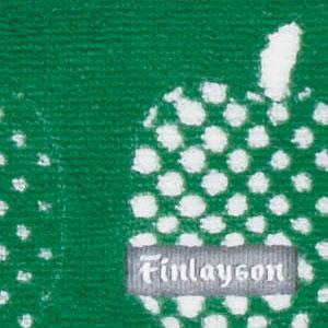フィンレイソン キッチンマット OPTINEN OMENA(オプティネンオメナ)【洗える/北欧インテリア】グリーンの詳細画像