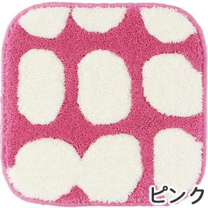 フィンレイソン チェアパッド ポップ(POP)【洗える/北欧インテリア】ピンクの全体画像