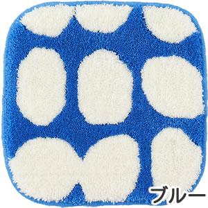 フィンレイソン チェアパッド ポップ(POP)【洗える/北欧インテリア】ブルーの全体画像