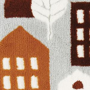 フィンレイソン 玄関マット TALOT(タロット)45×70cm【洗える/北欧インテリア】ブラウンの詳細画像