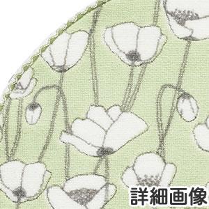 フィンレイソン 円形マット ヴァルム(VALMU)【洗える/北欧インテリア】グリーンの詳細画像