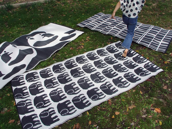 フィンレイソン ストローラグ ブラックの使用画像
