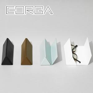 corga(コルガ)グラスケース CR-003 各色【メガネ/サングラス】の展示画像