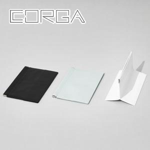 corga(コルガ)ポーチ スクエア CR-008 各色【ファッション小物】の展示画像