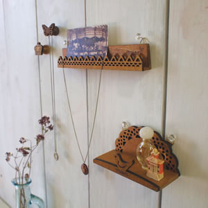 デコレ(DECOLE)mien 壁掛けホルダー【インテリア雑貨】のディスプレイ画像