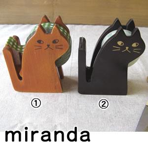 デコレ(DECOLE)miranda テープカッター CAT 各種【文具/事務用品】の使用画像