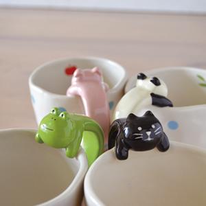 デコレ(DECOLE)concombre おあずけマグ 各種【食器/マグカップ】の展示画像