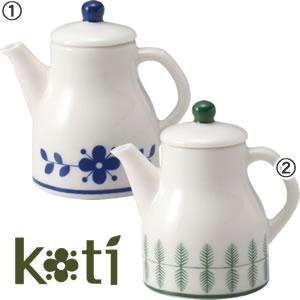デコレ(DECOLE)KOTI ミニチュア カフェポット【陶器/北欧風雑貨】のカラーバリエーション画像