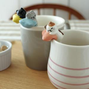 デコレ(DECOLE)うたたねスプーン【猫雑貨/キッチン雑貨】の使用画像