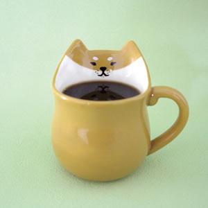 デコレ(DECOLE)ぎゅっとマグ【猫雑貨/キッチン雑貨】の使用画像
