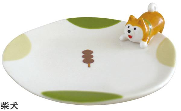 デコレ(DECOLE)おやつのとりこ皿【柴犬とハチワレ猫/キッチン雑貨】から柴犬の全体画像