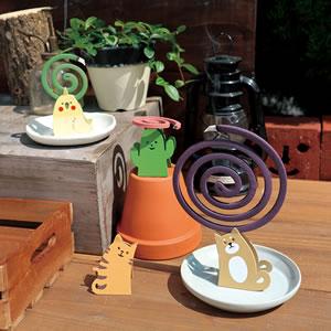 デコレ(DECOLE)アロマミニ蚊とり線香【日本製/お香】の詳細画像