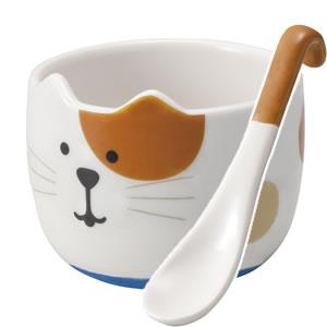 デコレ(DECOLE)コンコンブル しっぽスプーン付きデザートカップ【キッチン/食器】の全体画像