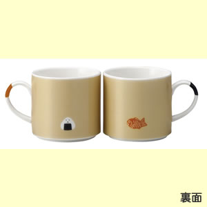 デコレ(DECOLE)コンコンブル ペアしっぽマグカップ【キッチン/食器】の全体画像