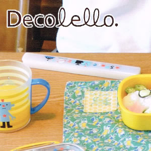 デコレ(DECOLE)デコレロ お箸&ケース ロボの使用画像