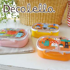 デコレ(DECOLE)デコレロ タイトランチBOX 1段 各種の展示画像