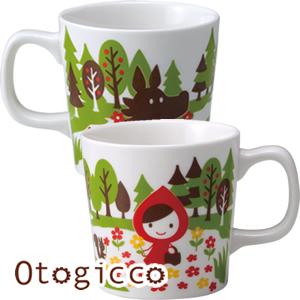 デコレ(DECOLE)オトギッコ(Otogicco)マグカップ【キッチン雑貨】のディスプレイ画像