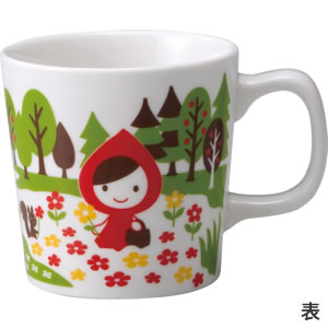 デコレ(DECOLE)オトギッコ(Otogicco)マグカップ【キッチン雑貨】の表面画像