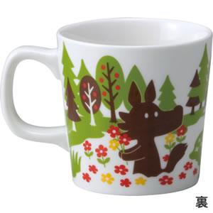 デコレ(DECOLE)オトギッコ(Otogicco)マグカップ【キッチン雑貨】の裏面画像