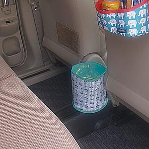 デコレ(DECOLE)aurinko(アウリンコ)ダストボックス【カー用品】フラワーの車内使用画像2