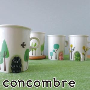 デコレ(DECOLE)concombre ほっこりほこらマグ【食器/マグカップ】のディスプレイ画像