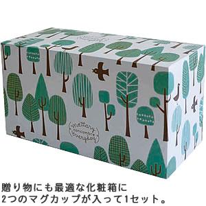 デコレ(DECOLE)concombre まったりペアマグセット【食器/マグカップ】の化粧箱画像