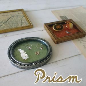 デコレ(DECOLE)Prism クリスタルフレームトレイ【インテリア雑貨/アクセサリー】のディスプレイ画像