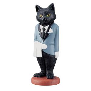 デコレ(DECOLE)キャットノワール マスコット(執事)【猫雑貨】の全体詳細画像