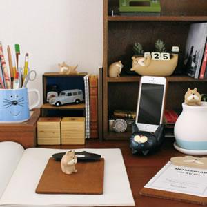 デコレ(DECOLE)ベルモン堂(belmondo)万年カレンダー【犬/猫雑貨】のディスプレイ画像