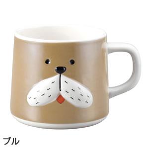 デコレ(DECOLE)ベルモン堂(belmondo)ベルモンマグ【犬/猫雑貨】ブルの全体画像