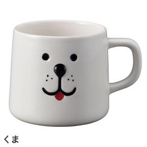 デコレ(DECOLE)ベルモン堂(belmondo)ベルモンマグ【犬/猫雑貨】くまの全体画像