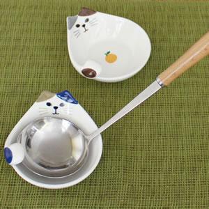 デコレ(DECOLE)HAPPY CAT day おたま立て【食器/鍋物】使用画像